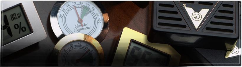 Cigar Humidifiers & Hygrometers