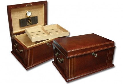 THE Caesar Unique Antique Humidors with Traditional Handl...