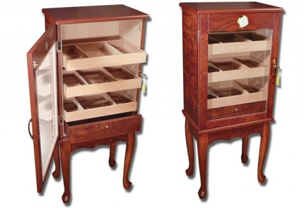 THE Oxford Free Standing Humidor Cabinet