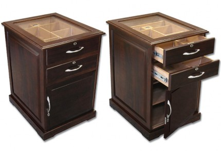 THE Santiano End Table Humidor