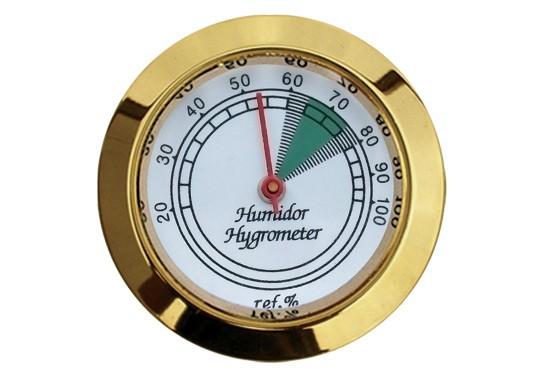 Analog Gold Frame Hygrometer