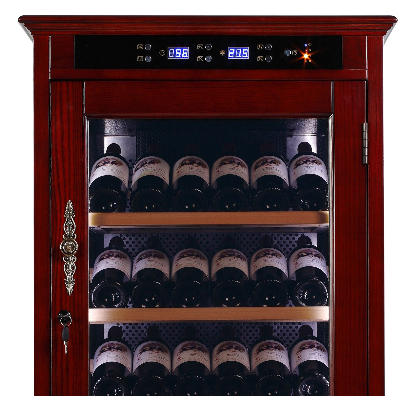 Cabinet With Wine Cooler Wine Cooler Cabinet Refrigerator Temperature Controlled Cabinet