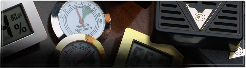 Cigar Humidifiers & Hygrometers