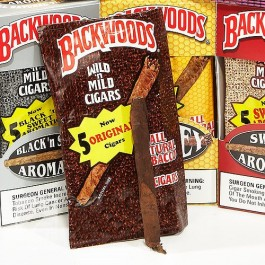 Backwoods Cigars  Black 'N Sweet Aromatic  Cigars