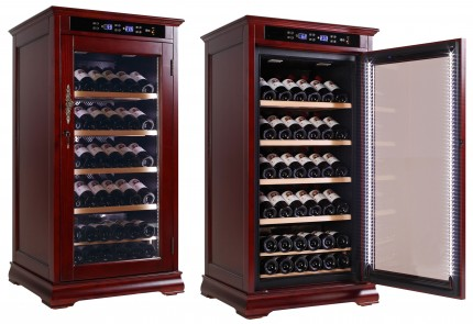 Wine Cooler Cabinet Refrigerator   Temperature Controlled Cabinet For Wine  Bottle Storage Top Of The Line
