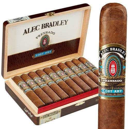 Alec Bradley Prensado Lost Art  Churchill  Cigars