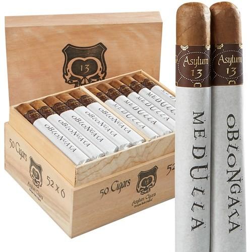 Asylum 13 Medulla Oblongata  60 x 6  Cigars