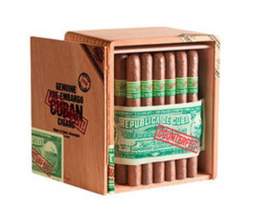 Genuine Pre-Embargo C.C. Sun Grown  1958 Prominente  Cigars