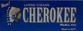 Cherokee Filtered Cigars  Vanilla  Cigars