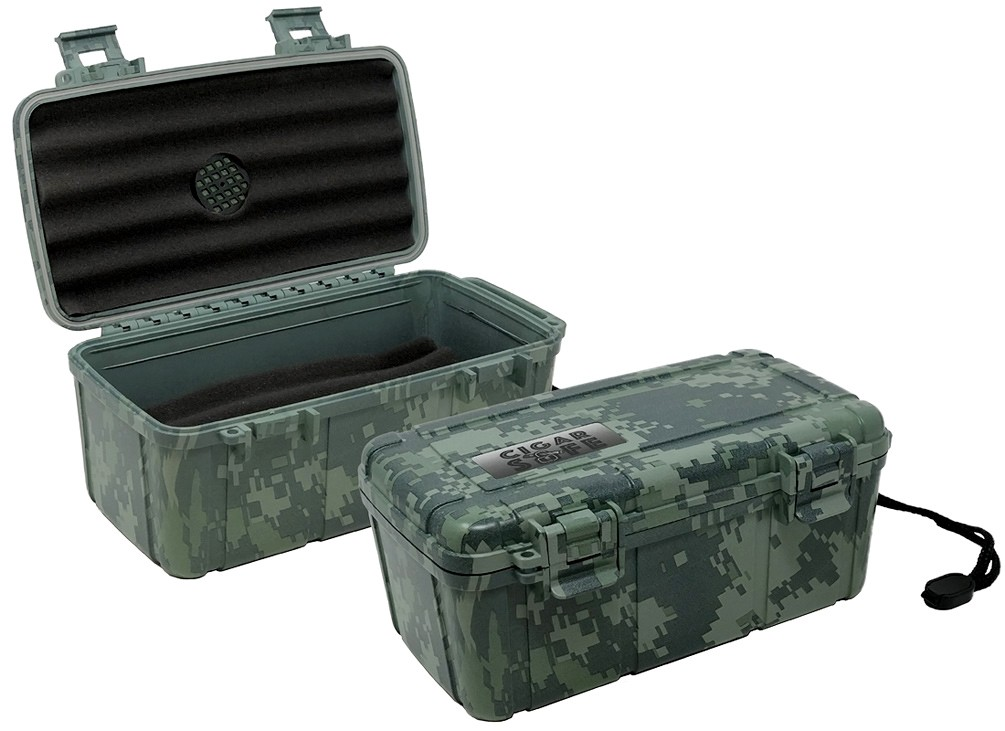 THE Cigar Safe 15 (Camouflage)