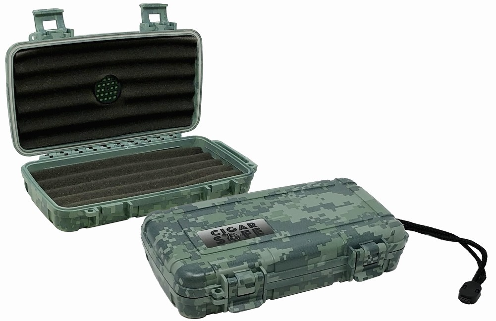 THE Cigar Safe 5 (Camouflage)
