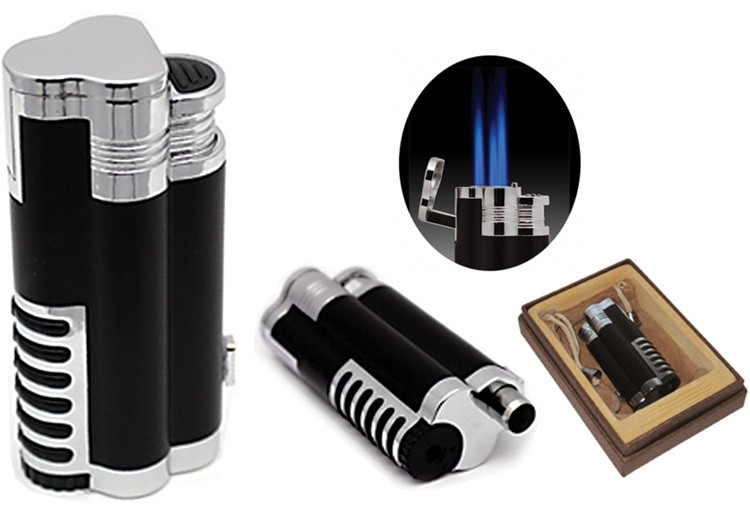 Cyclone Triple Flame Cigar Lighter