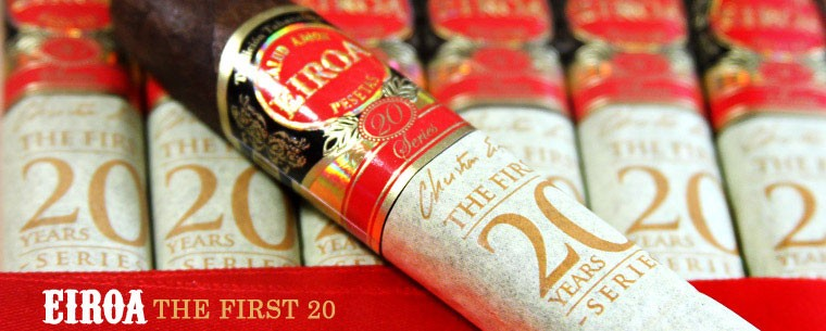 Eiroa The First 20 Years  50 X 5  Cigars