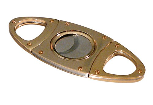Gold Guillotine Cigar Cutter