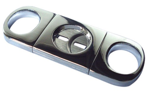 Silver Heavy Body Cigar Cutter