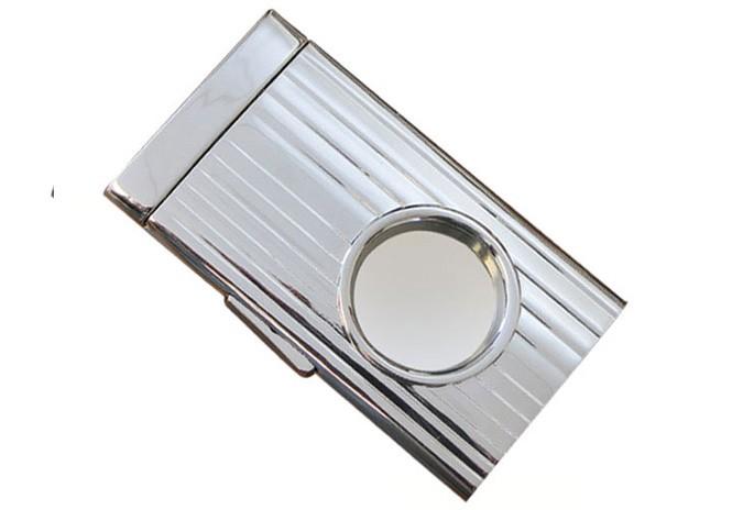 Chrome Push Button Lock Blade Cutter