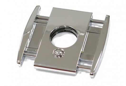 Titan Box-Wing Cigar Cutter (Silver)