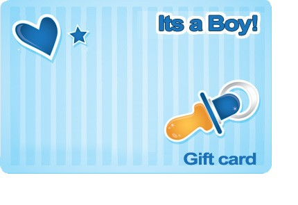 It's a Boy Gift Card