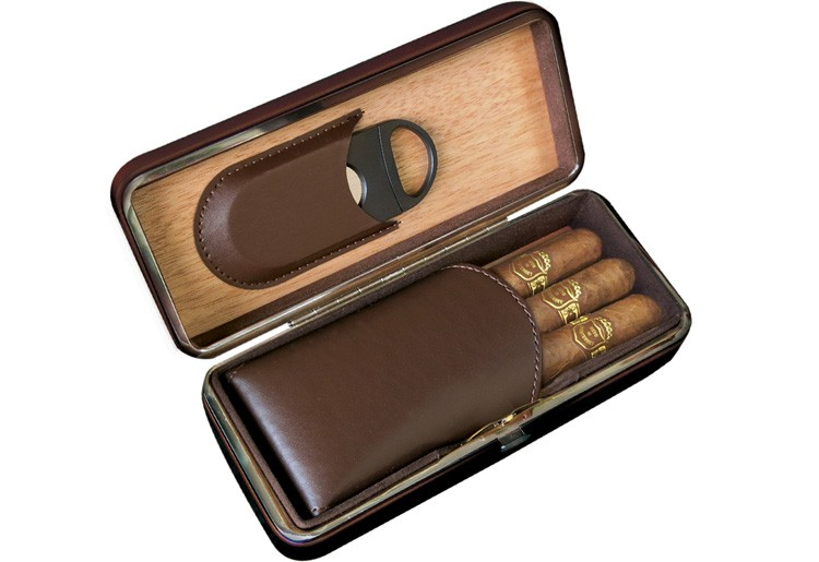 Folding Case with Cutter (Brown)