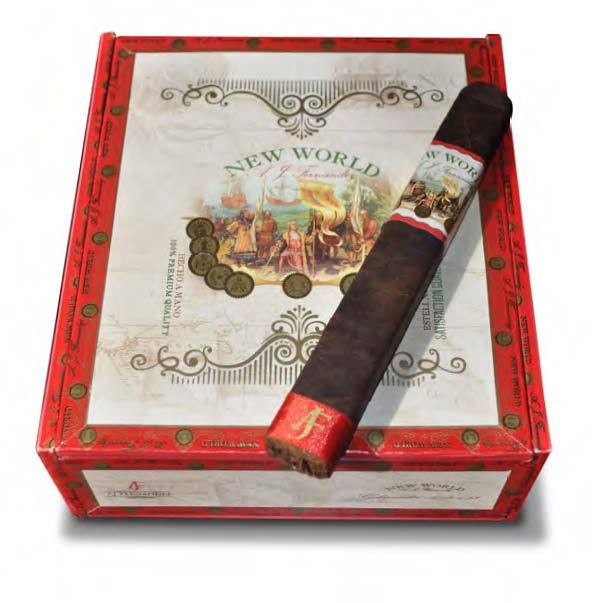 New World Cameroon by AJ Fernandez  Toro  Cigars