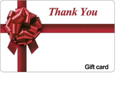 Thank You Gift Card