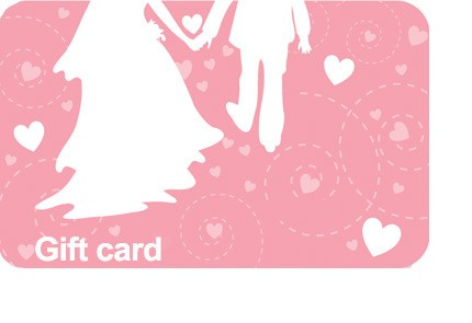 Wedding Couple Gift Card