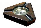 Triangular Maple Lacquer Ashtray