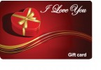 I Love You Gift Card