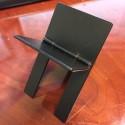 Folding Cigar Stand (Black Metal Finish)