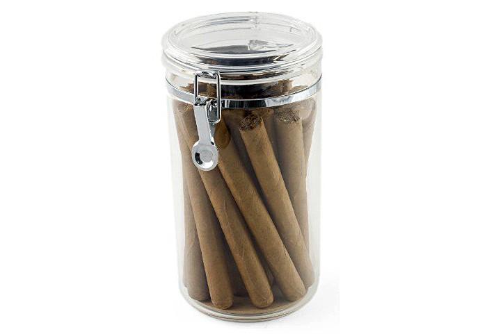 Acrylic Cigar Jar