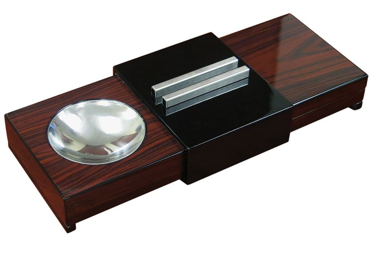 Ashtray with Hidden Humidor