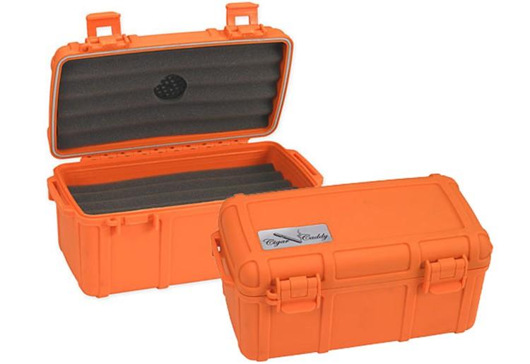 THE Cigar Caddy 15 (Blaze Orange)