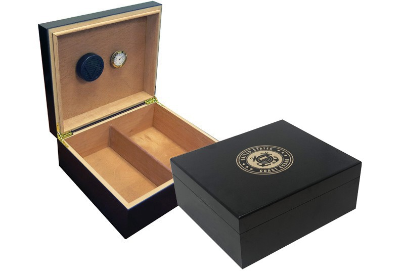 Coast Guard Cigar Humidor (Black)