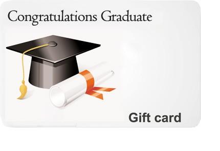Graduation Congrats Gift Card