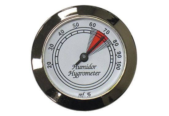 Analog Silver Frame Hygrometer