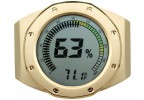 Watch Bezel Digital Hygrometer (Gold)