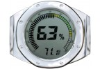 Watch Bezel Digital Hygrometer (Silver)